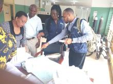 Lassa Fever Contacts identification and line listing at UNTH Enugu by the Hospital Infectious Disease and Control Unit, and Rapid Response Teams from Enugu State (including SMOH and WHO) and Nkanu West LGA
