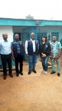WHO and NCDC supervisory visit to the mobile laboratory in Ondo state on Lassa fever