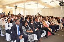 A view of the audience attending the launching of the Influenza Vaccination Programme for 2019