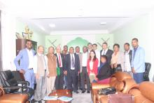 Introductory Meeting at Oromia RHB