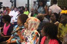 Cross section of the media who participated in the press briefing