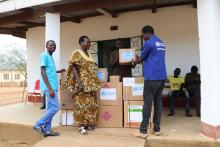 WHO handing over emergency medical supplies to Kapoeta State Ministry of Health