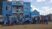 60 ladies trained to serve water filter stations in Arusha