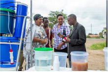 Dr Hilonga's water stations