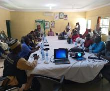 Cross section of participants during the international border coordination meeting in Suletankarkar LGA Jigawa state