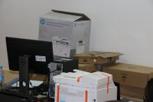 ICT equipment donated to the Ministry of Health