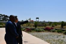 Guided tour of the newly commissioned Chinese Embassy in Asmara