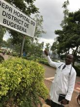 Dr William Rutagengwa, Director General Bugesera District Hospital