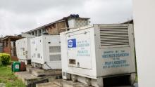 Generators donated by WHO Nigeria to the Laboratory