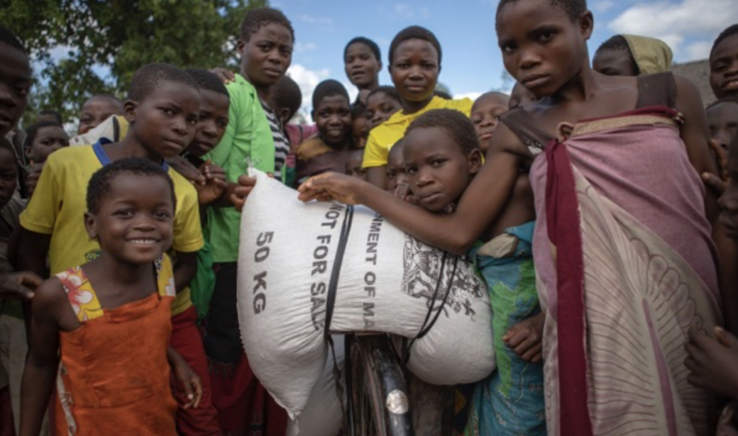 The Malawi government is providing emergency food supplies to the affected areas.