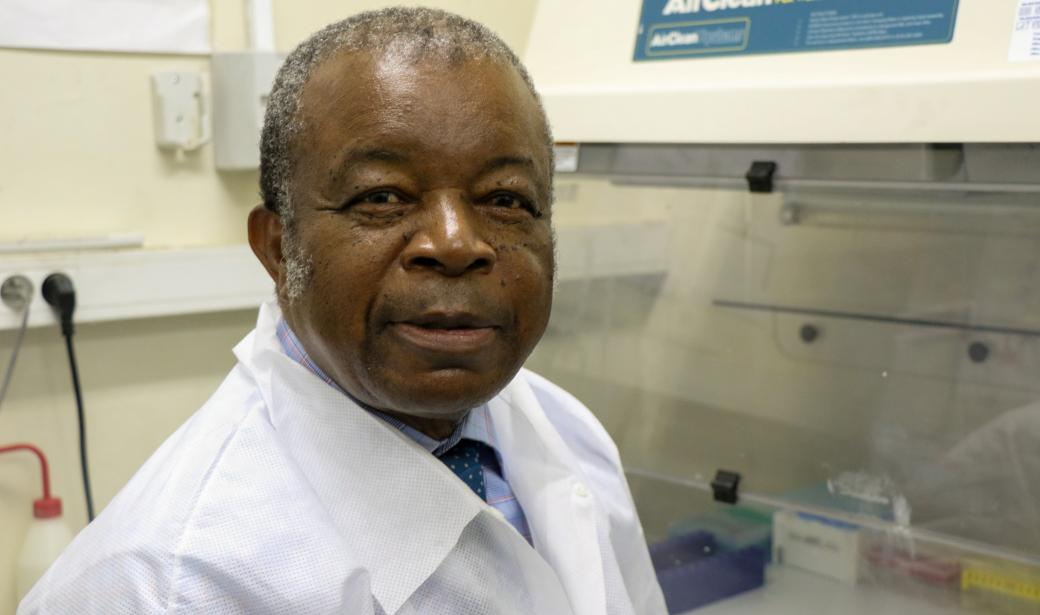 Professor Jean-Jacques Muyembe, General Director of INRB