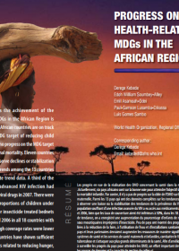 Progress on the Health-Related MDGs in the African Region