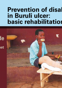 The guide contains valuable tools for wound care and the rehabilitation of people affected by Buruli ulcer.