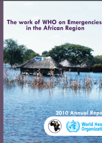 The work of WHO on Emergencies in the African Region