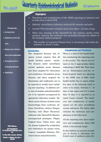 WHO Eritrea quaterly Epidemiological Bulletin - May 2015