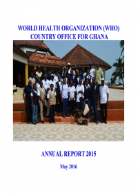 WHO Country Office for Ghana - Annual report 2015