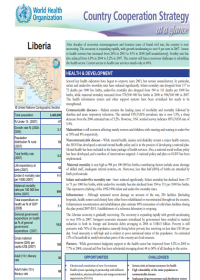 Country Cooperation Strategy at a glance: Liberia
