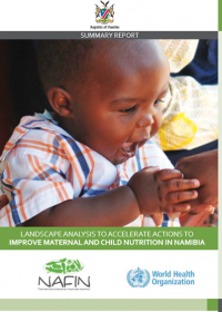 Landscape Analysis to Accelerate Actions to Improve Maternal and Child Nutrition In Namibia