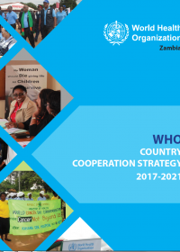 WHO Country Cooperation Strategy 2017-2021
