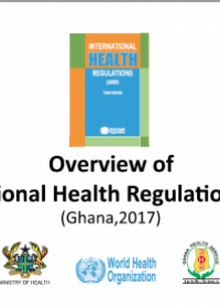 Overview of International Health Regulations 2005 (Ghana 2017)