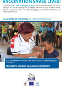 Maternal and Child Health Week 2015 Posters