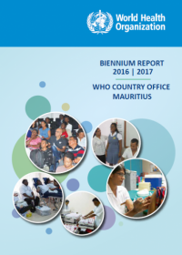 WHO Biennium Report 2016-2017