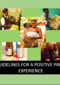 ANC guidelines for a positive pregnancy experience