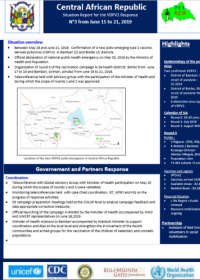 Situation Report for the VDPV2 Response