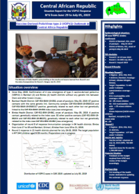 Situation Report for the VDPV2 Response N°6 from June 29 to July 05, 2019