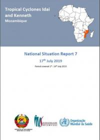 Tropical Cyclones Idai and Kenneth Mozambique - National Situation Report 7