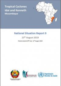 Tropical Cyclones Idai and Kenneth Mozambique - National Situation Report 9